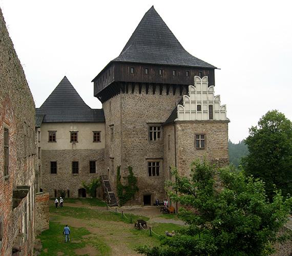Hrad Lipnice nad Sázavou & zatopené lomy