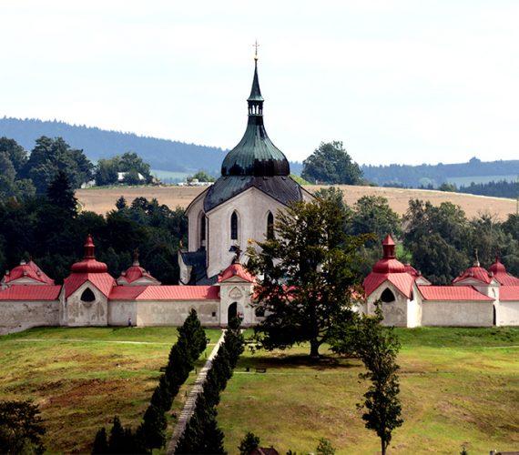Kostel sv.Jana Nepomuckého na Zelené hoře & Pilská nádrž