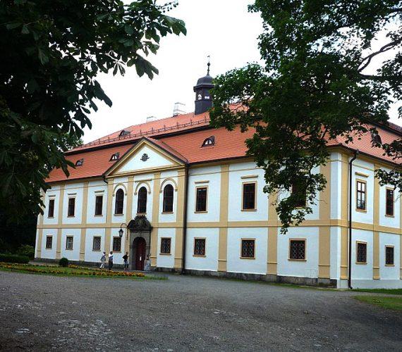 Barokní zámek Chotěboř s anglickým parkem